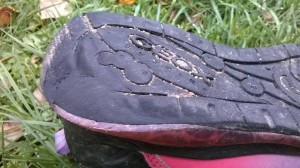 Podrážka značkové obuvi GEOX